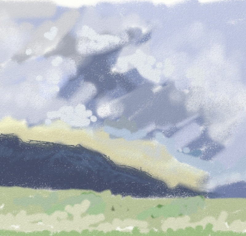 Cloudy Drive. iPad.