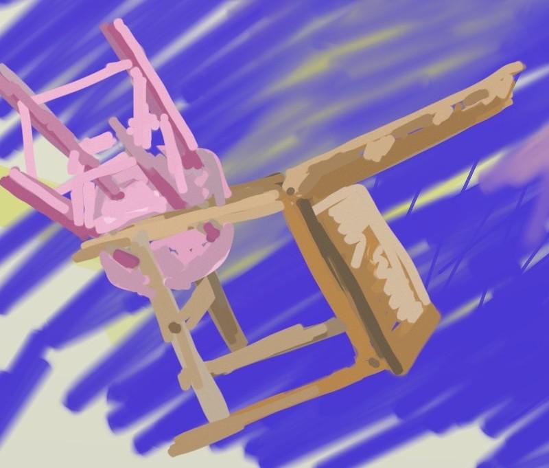 Flying Chairs. iPad.
