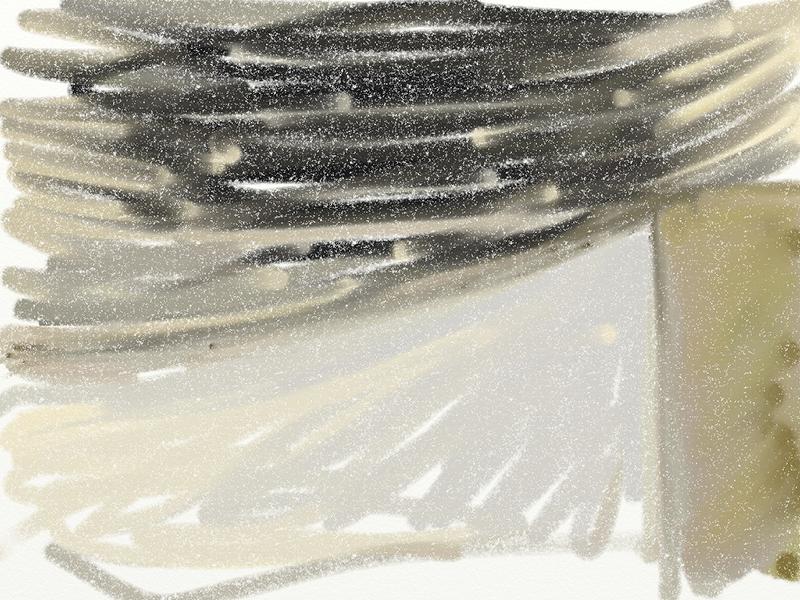 Crowding Skies.  iPad.