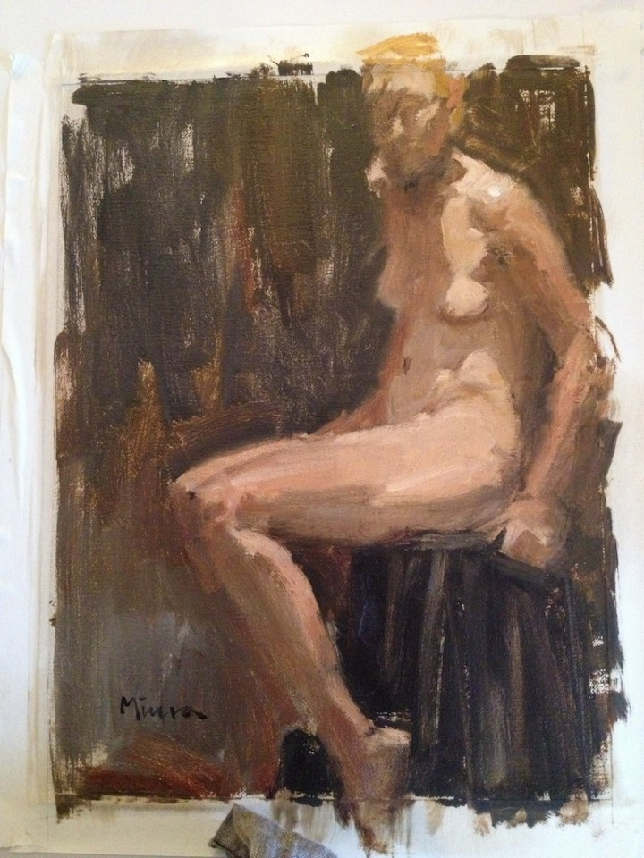 Terry's nude.